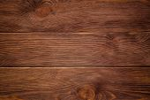 Wood Plank Background, Tinting. Grunge Material. Wall Made Of Wooden Planks poster