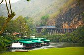 The Death Railway Crossing The River Kwai, Built When World War Ii poster