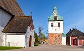 Porvoo Cathedral Of The Evangelical Lutheran Church Of Finland In Porvoo, Finland. It Was Built In T poster