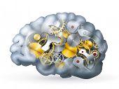 Постер, плакат: Механические мозга 10eps