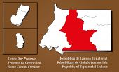 Equatorial Guinea - Centro Sur Highlighted