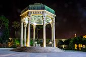 picture of shiraz  - Tomb of poet Hafez in Shiraz Iran - JPG