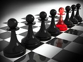 pic of chessboard  - Chess pieces - JPG