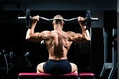 image of dumbbell  - Strong man  - JPG