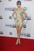 Taylor Swift at the 40th American Music Awards Arrivals, Nokia Theatre, Los Angeles, CA 11-18-12