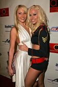 Samantha Ryan and Lux Kassidy at Dave Navarro's Halloween Lingerie and Costume Ball, The Highlands,
