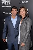 Kyle Chandler, Kathryn Chandler at the