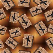 stock photo of rune  - Rune Nauthis - JPG