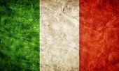 foto of italian flag  - Italy grunge flag - JPG