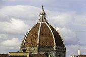pic of cupola  - Cupola of Santa Maria del fiore in Florence - JPG