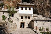 pic of sufi  - Famous dervish house in Blagaj Buna - JPG