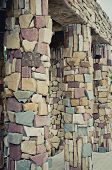 image of neo-classic  - the Stone Pillars made from mountain stone - JPG
