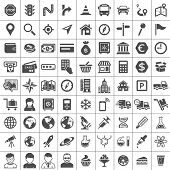 stock photo of universal sign  - Universal Icon Set - JPG