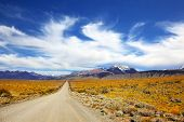 foto of pampa  - The pampas in Patagonia - JPG