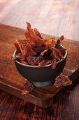 pic of meats  - Beef jerky - JPG