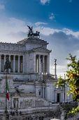 stock photo of altar  - the important landmark altare della patria Rome - JPG