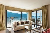 stock photo of penthouse  - modern architecture - JPG