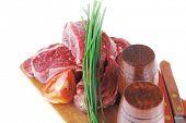 stock photo of porterhouse steak  - main course  - JPG