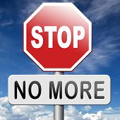 pic of stop fighting  - no more never again stop now before it - JPG