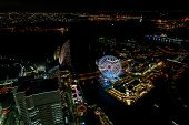 picture of minato  - Night View of Minato Mirai 21 in Yokohama - JPG