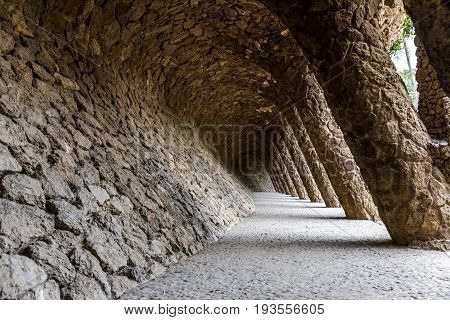Tunnel passage with