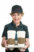 Senior Worker - Coffee Server