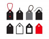 Price Tag Icon Collection, Sale Label Symbols Discount Labels poster