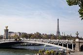 Eiffel Tower, Symbol Of Paris, France. Paris Best Destinations In Europe poster