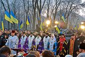 Kiev - Nov 24: 79Th Anniversary Of Holodomor Marks In Kiev, Ukraine On November 24, 2012