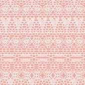 Lace Seamless Crochet Pattern