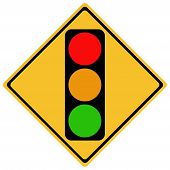 stock photo of traffic light  - traffic sign - JPG