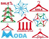 Coat hanger - sale symbol
