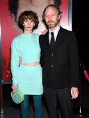 LOS ANGELES - DEC 12:  Miranda July & Mike Mills arrives to the