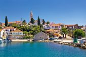 stock photo of kali  - Beautiful island village of Kali Ugljan Croatia - JPG