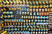 stock photo of dalyan  - Magnet Gifts in Dalyan Town - JPG