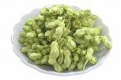 stock photo of cowslip  - Thai herbal food ingredient Cowslip flower - JPG