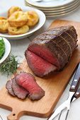 picture of wagyu  - roast beef with yorkshire pudding - JPG