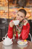 picture of tied hair  - Cafes - JPG