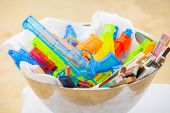 pic of memento  - colorful of Water Gun  - JPG