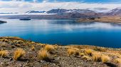 image of incredible  - Incredibly Blue Water Of Lake Tekapo - JPG