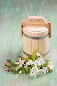 foto of tub  - Wooden Tub - JPG