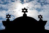 stock photo of synagogue  - synagogue - JPG