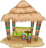 picture of tiki  - Illustration of a Tiki - JPG