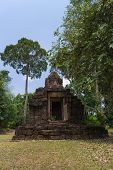 picture of hindu  - Hindu sanctuary situated name Tamuen stone castle under sunlight - JPG