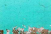 image of fragmentation  - Turquoise texture - JPG