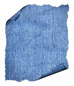 pic of denim jeans  - Torn blue jeans texture as copy space denim texture top view - JPG