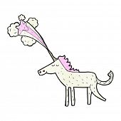 foto of unicorn  - cartoon magical unicorn - JPG