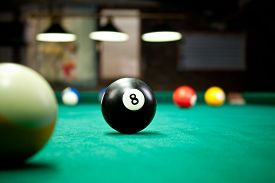 pic of pool ball  - Billiard balls  - JPG