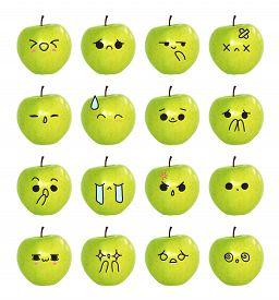 foto of emoticon  - emoticon cute face  - JPG