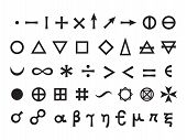 picture of mystique  - Mystique Symbols set I - JPG